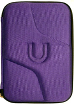 Kindle Keyboard Purple Hard Shell Case with Zipper